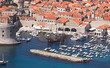 Dubrovnik old city landscape