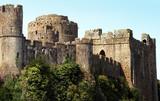 Pembroke Castle in Wales poster