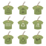 tshirt tags with motifs poster