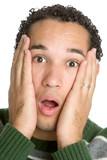 Shocked Man poster