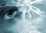 Surreal eye abstract poster
