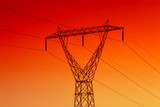 Electrical powerline poster
