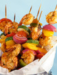 Shrimp & Vegetable Kebabs