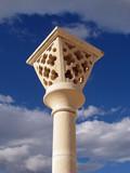 dalmatian street-lamp poster