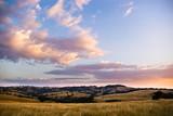 idyllic landscape poster