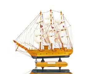 Vintage Sail Ship Starboard