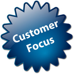 """Customer Focus"" stamp"