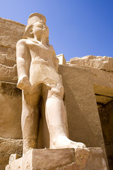 Statue at The Temple of Karnak