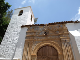 Kirche in Pajara auf Fuerteventura