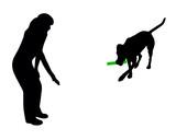 Hundetraining (Obedience), Befehl: Bringen! poster