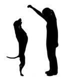 Hundetraining (Obedience), Befehl Hoch! poster