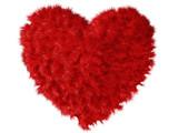 Fluffy heart poster