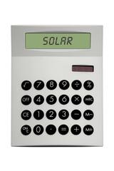 Solar Taschenrechner