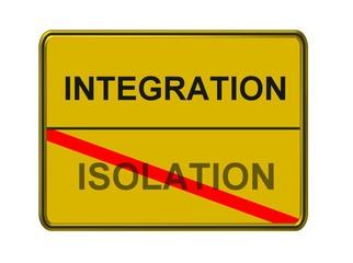 integration - isolation