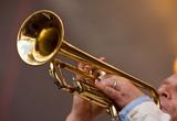 trompette jazz cuivre instrument concert musicien musique poster