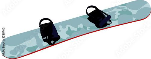 Planche snowboard