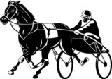 Harness racing poster