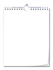 spiral bound note pad, perfectly to place your own texts!