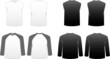 Men's T-shirts-Long Sleeve, Baseball and Sleeveless Muscle Tees