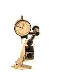 precision micrometer and caliper poster