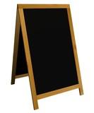 Blackboard sign poster