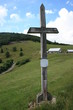 Croix chrétienne au niveau de la ferme auberge du Haag - Vosges