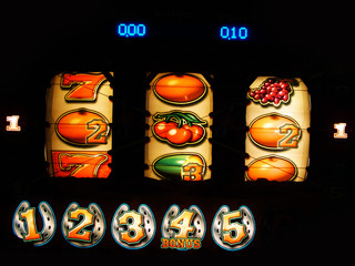 fruit machine reel