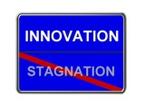 innovation - stagnation poster