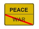 peace - war poster