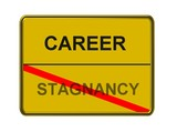 career - stagnancy poster