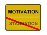motivation - stagnation poster