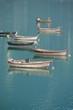 barche - Lago di Santa Croce