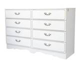 Painted Chest of Drawers isolated with clipping path poster
