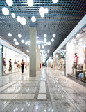 Fototapety Interior of a shopping centre