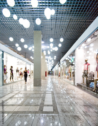 Interior of a shopping centre - 8819547