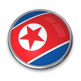 Banner Button North Korea