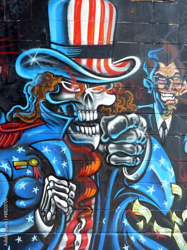фотообои на стену граффити: