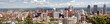 Montreal panorama view from Mont Royal