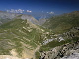 france alps provence view from the summit of the col poster
