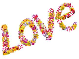 Floral Personalised Name - Love