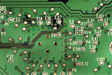 Pictures of boards with several electronic components