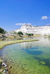 Lake near Pamukkale, Hierapolis. Turkey 2008.