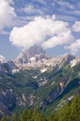 julian alps in the summer, slovenia
