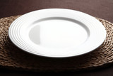 Empty plate poster