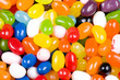 Colorful Jelly Beans Candy Close Up and Suitable for Background