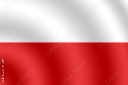 Drapeau de Pologne