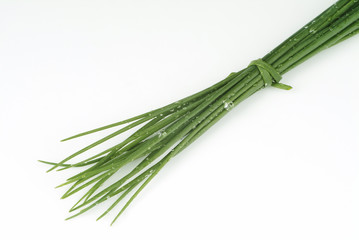 Bunch of Fresh Chives.
