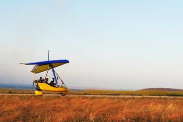 Moto hang glider