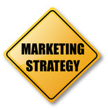 Marketing Strategy Road Sign poster