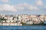 Urban scenery in Istanbul Turkey poster